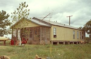 Caretakers home at Camp Lake Colorado