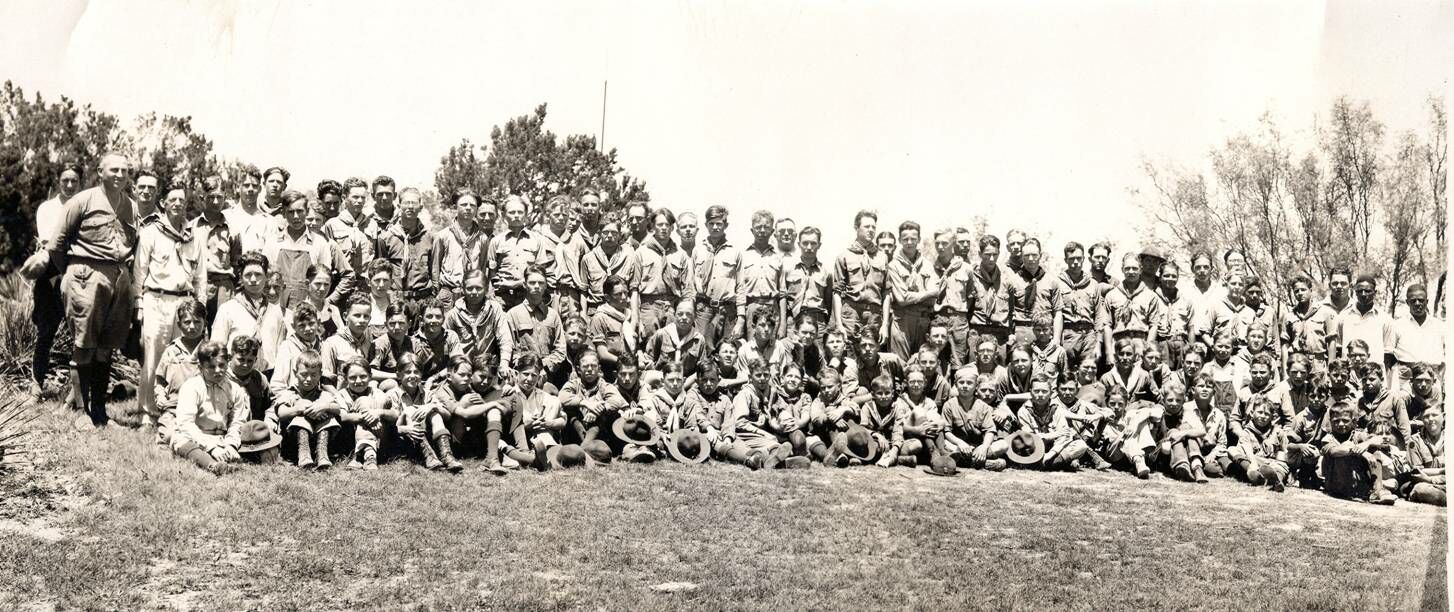 Group photo - Camp Post 1927