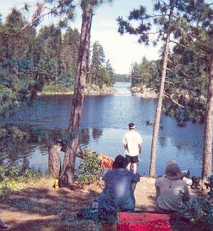 Don Rogert Canoe Base Atikokan Ontario 2001