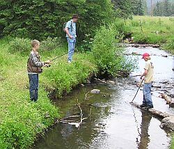 Camp tres ritos for New mexico fishing license cost