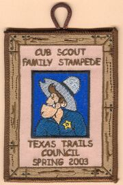 Cub Family Camp - Youth Patch