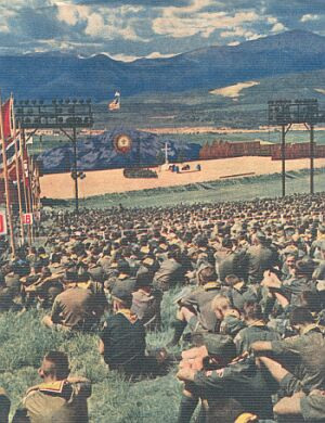Protestant Services at 1960 National Jamboree