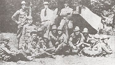 Brady troop taken in 1916
