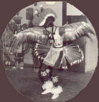 Warren Wallace performs Eagle Dance