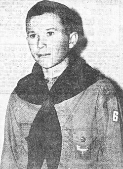Wayne Cliff of Troop 6