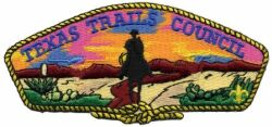Texas Trail Council Shoulder Patch